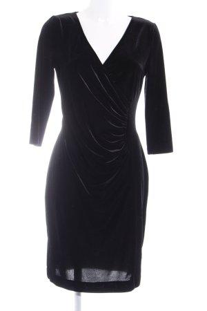 Madeleine Jurk met lange mouwen zwart elegant