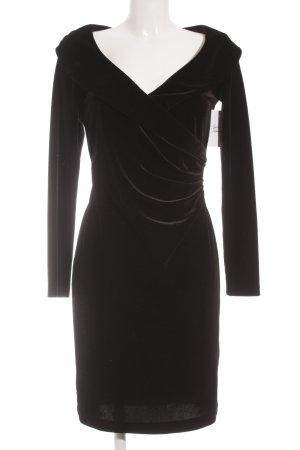 Madeleine Langarmkleid schwarz Elegant