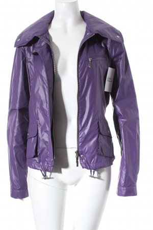 Madeleine Outdoorjacke lila College-Look