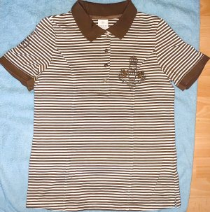 Madeleine Camiseta tipo polo multicolor Algodón