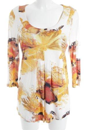 Madeleine Print-Shirt Allover-Druck Casual-Look