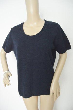 Madeleine Jersey de manga corta azul oscuro