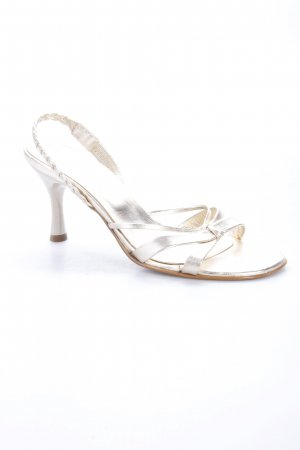 Madeleine Sandals Gold Color
