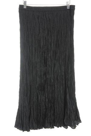 Madeleine Seidenrock schwarz klassischer Stil