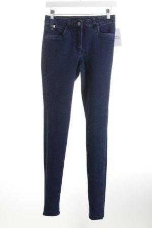 Madeleine Skinny Jeans dunkelblau-lila Casual-Look