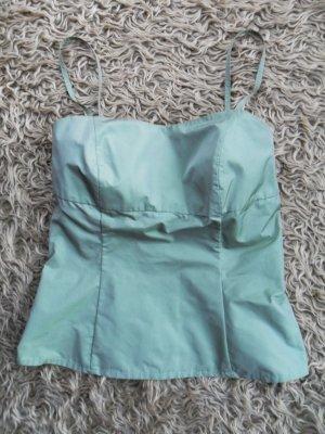 Madeleine Spaghettiträger Blusen Top, hellgrün, Größe 38