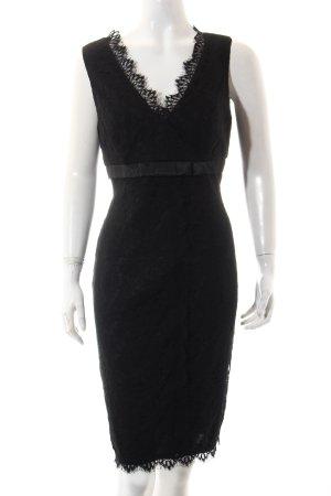 Madeleine Spitzenkleid schwarz Elegant
