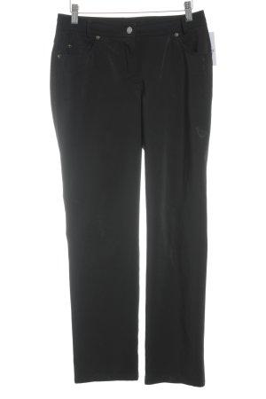 Madeleine Stoffhose schwarz Elegant
