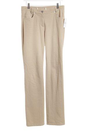 Madeleine Straight-Leg Jeans beige klassischer Stil