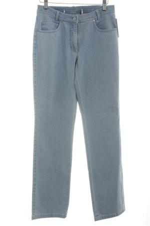 Madeleine Straight-Leg Jeans himmelblau-kornblumenblau Vintage-Look