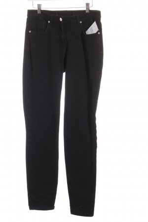 Madeleine Straight-Leg Jeans schwarz klassischer Stil