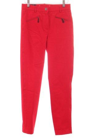 Madeleine Stretch Jeans rot Elegant