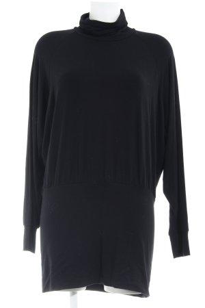 Madeleine Stretchkleid schwarz minimalistischer Stil