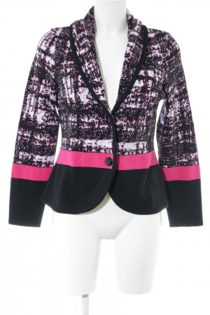 Madeleine Knitted Blazer graphic pattern elegant