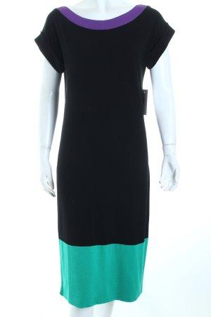Madeleine Strickkleid Colourblocking minimalistischer Stil