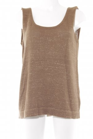 Madeleine Knitted Top light brown-gold-colored casual look
