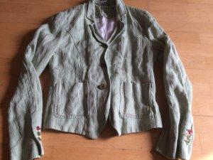 Madeleine stylische Jacke oder Blazer Gr. 38 (36) Grün