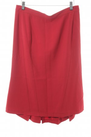 Madeleine Circle Skirt red casual look