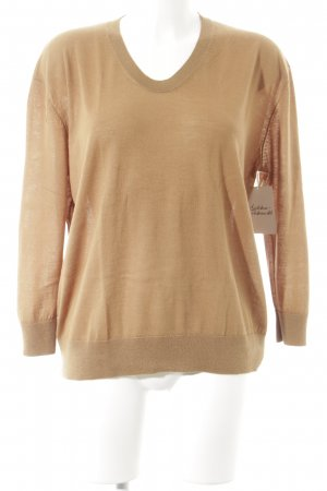 Madeleine thompson Strickpullover hellbraun Casual-Look