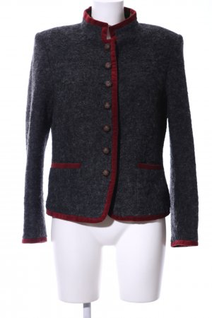 Madeleine Traditional Jacket light grey-red flecked vintage look