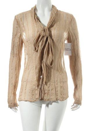 Madeleine Tunikabluse beige Eleganz-Look