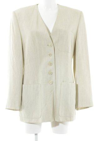 Madeleine Blazer unisexe beige clair-crème élégant