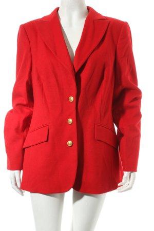 Madeleine Woll-Blazer rot Vintage-Look