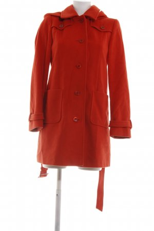 Madeleine Wollmantel rot Casual-Look