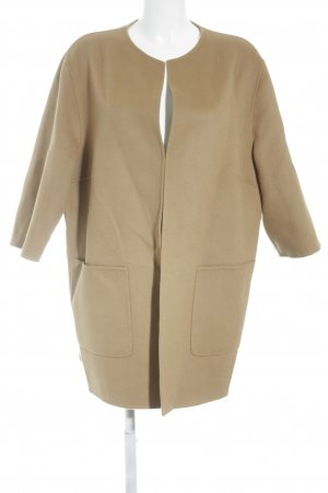 Madeleine Wollmantel camel Casual-Look