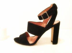 MADEWELL Octavia Sandals TOP Qualität schwarzes Wildleder Gr. 40/ 10 cm