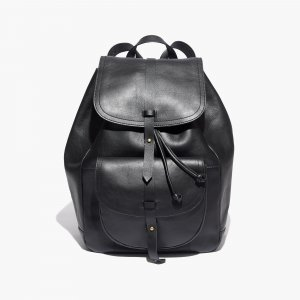 Madewell Backpack black leather
