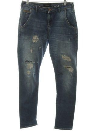 Madison Scotch Slim Jeans blau Casual-Look