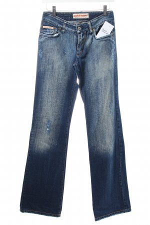 Madison Square Straight-Leg Jeans dunkelblau Casual-Look
