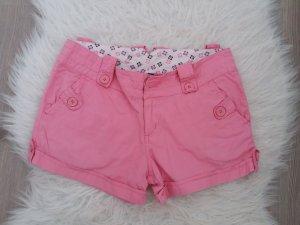 Madonna kurze Hose Shorts rosa S M 36 38