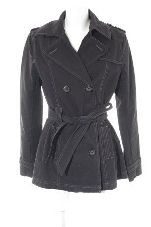 Madonna Parka zwart straat-mode uitstraling