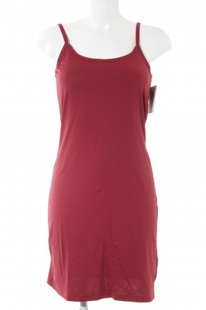 Madonna Tube Dress dark red simple style