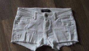 Madonna Shorts Hotpants Denim Jeans Kurze Hose Cut off Destroyed