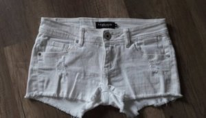 Madonna Shorts Hotpants Denim Jeans Kurze Hose Cut off Destroyed