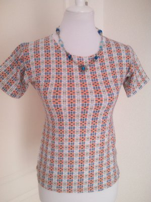 Madonna!Süße Sommer-Bluse/Shirt/Top in Retro-Muster,Gr.XL/L