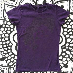 Madonna T-Shirt Sticky & Sweet Tour Gr. S lila