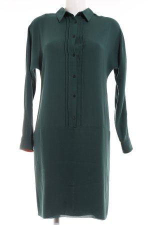 Mads nørgaard Hemdblusenkleid waldgrün-dunkelgrün Casual-Look