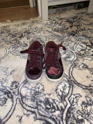 Ankle Boots purple-bordeaux