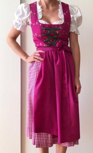 Mädchenhaftes- pinkfarbenes Dirndl (Gr. 34, ungetragen) zu verkaufen