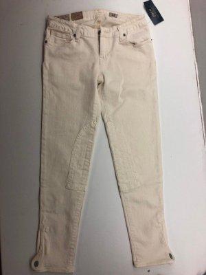 Lauren by Ralph Lauren Stretch jeans licht beige