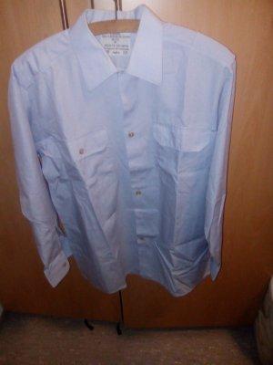 Männerhemd  hellblau