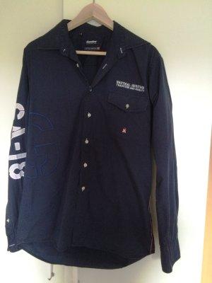 Männerhemd von Gaastra dunkelblau Gr. M