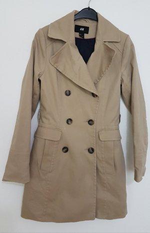 H&M Abrigo de entretiempo beige-camel