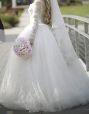 **Märchenhaftes Brautkleid **
