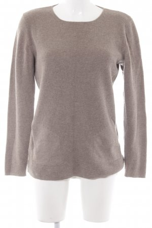 Maerz Muenchen Wollpullover hellbraun Casual-Look