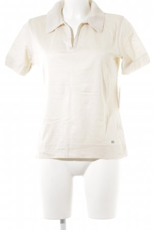 März Polo-Shirt creme Casual-Look